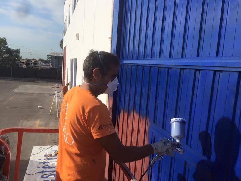 Pintura de exterior en valencia